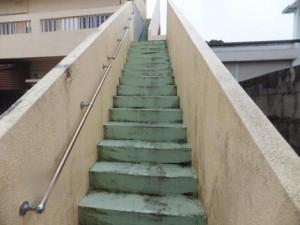 知念邸(首里池端)①階段